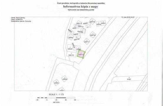 Predaj, stavebný pozemok, rekreačný pozemok, Komoča